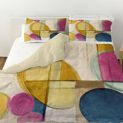 Very Retro Duvet Cover Size: Queen