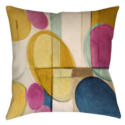 Square Geometric Indoor/Outdoor Throw Pillow Size: 20 H x 20 W x 5 D