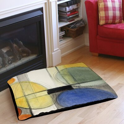 Very Retro Indoor/Outdoor Pet Bed Size: 50 L x 40 W