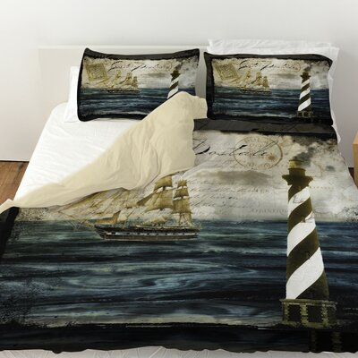 Timeless Voyage 2 Duvet Cover Size: King
