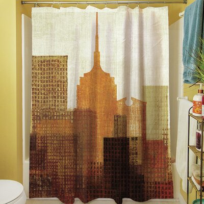 Summer in the City II Shower Curtain