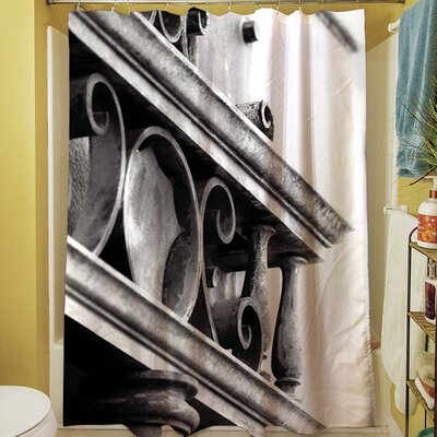 Urban Detail Scroll Shower Curtain