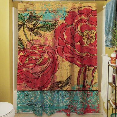 Valencia III Shower Curtain