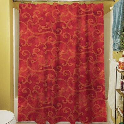 Zinnia Damask Shower Curtain