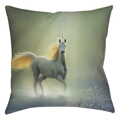 Touch by the Aurora Printed Throw Pillow Size: 18 H x 18 W x 5 D