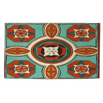 Tuscan Tile 4 Area Rug Rug Size: 4 x 6