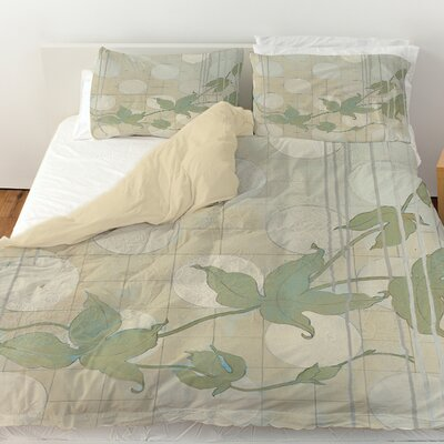 Summer Vine 2 Duvet Cover Size: Twin