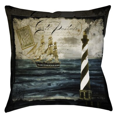 Timeless Voyage 2 Indoor/Outdoor Throw Pillow Size: 16 H x 16 W x 4 D