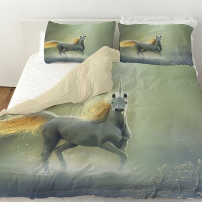 Touch by the Aurora Duvet Cover Size: King