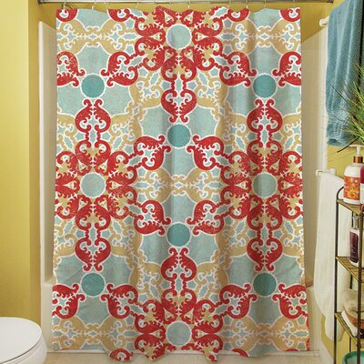 Kerrie Geometric Shower Curtain
