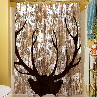 Deer Horn Shower Curtain