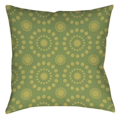 Tropical Breeze Patterns Indoor/Outdoor Throw Pillow Size: 16 H x 16 W x 4 D, Color: Green