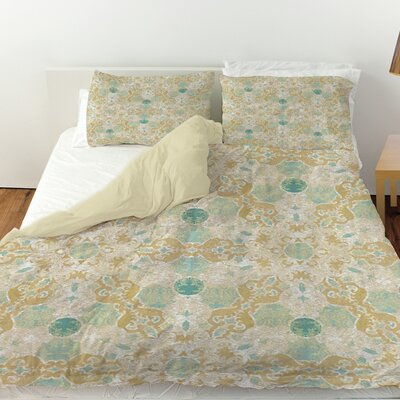 Tea House Patterns 12 Duvet Cover Size: King