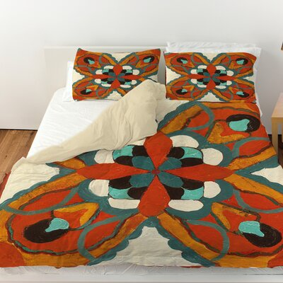 Laila 1 Duvet Cover Size: Twin