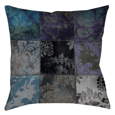 Rosalinda Indoor/Outdoor Throw Pillow Size: 20 H x 20 W x 5 D, Color: Purple
