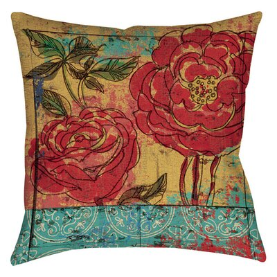 Valencia Indoor/Outdoor Throw Pillow Size: 16 H x 16 W x 4 D