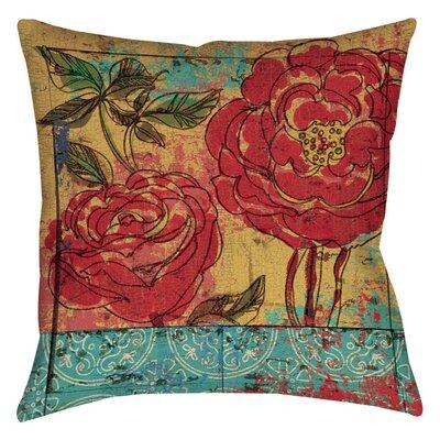 Valencia Indoor/Outdoor Throw Pillow Size: 18