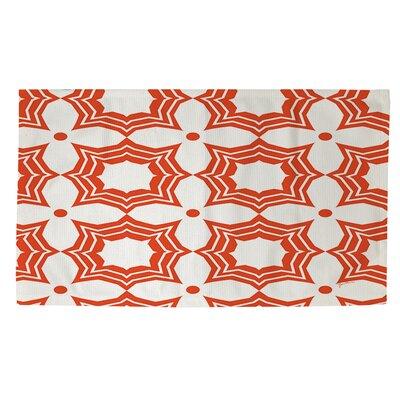 Sparkle Orange Area Rug Rug Size: 2 x 3