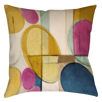 Geometric Printed Throw Pillow Size: 18 H x 18 W x 5 D