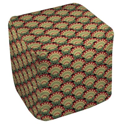 Tropical Breeze Patterns 35 Ottoman