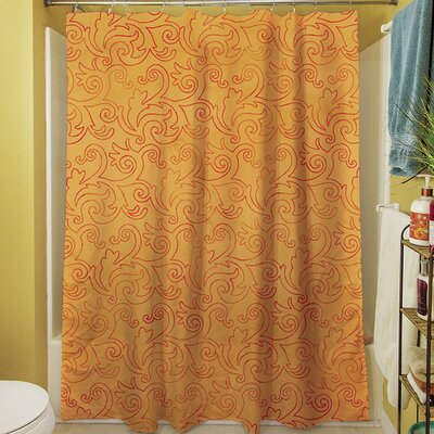 Zinnia Damask Shower Curtain