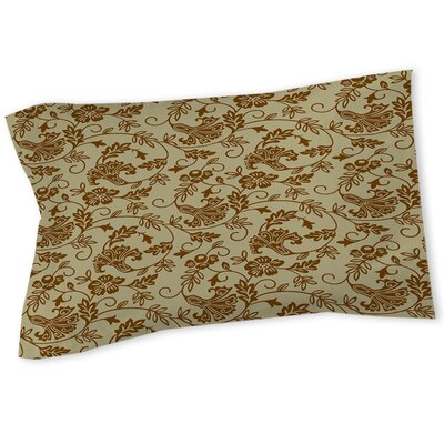 Sultry Blues Sham Size: Twin, Color: Taupe