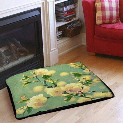 Vintage Botanicals 4 Indoor/Outdoor Pet Bed Size: 40 L x 30 W