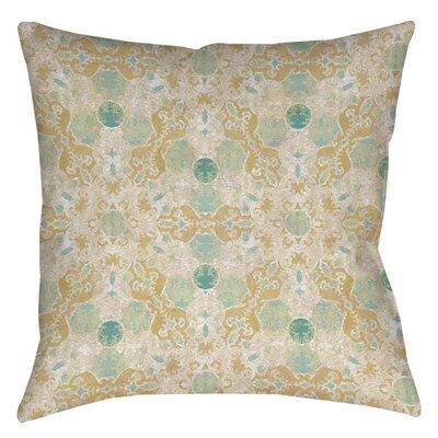 Tea House Patterns 12 Indoor/Outdoor Throw Pillow Size: 18 H x 18 W x 5 D