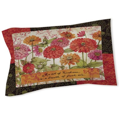 Zinnia Sham Size: Queen/King