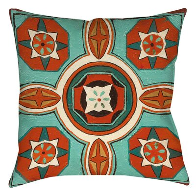 Laila 4 Indoor/Outdoor Throw Pillow Size: 16 H x 16 W x 4 D
