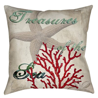 Concetta Printed Throw Pillow Size: 16 H x 16 W x 4 D