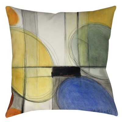 Geometric Printed Square Throw Pillow Size: 14 H x 14 W x 3 D