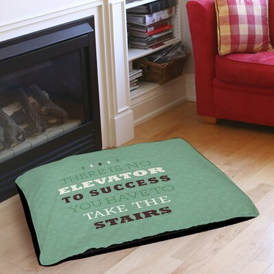 Take the Stairs Indoor/Outdoor Pet Bed Size: 28 L x 18 W