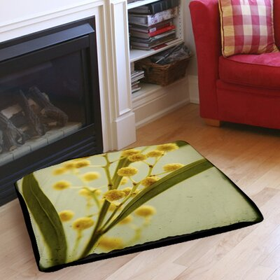 Vintage Botanicals 1 Indoor/Outdoor Pet Bed Size: 28 L x 18 W