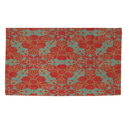 Tea House Patterns 13 Area Rug Rug Size: 2 x 3