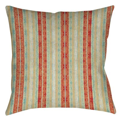 Tea House Patterns 14 Printed Throw Pillow Size: 16 H x 16 W x 4 D