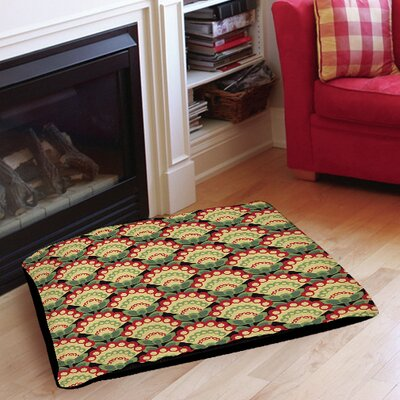Tropical Breeze Patterns 35 Indoor/Outdoor Pet Bed Size: 50 L x 40 W