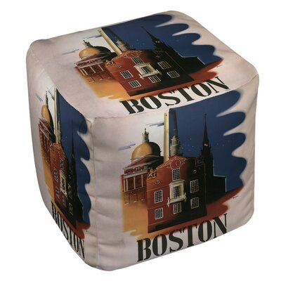 Boston Architecture Ottoman
