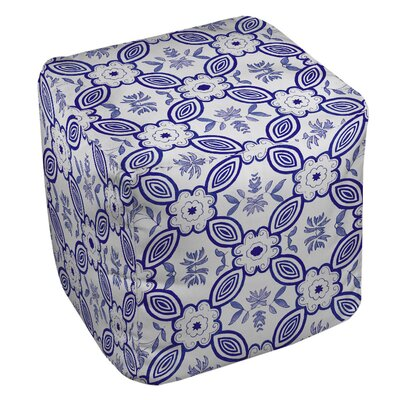 Chinoiserie Swatch 1 Ottoman