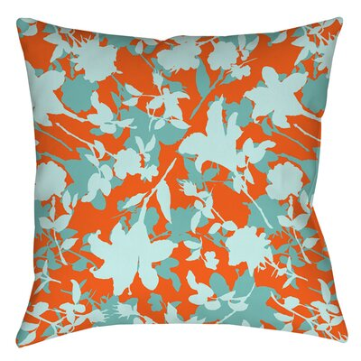 Chloe Floral 5 Indoor/Outdoor Throw Pillow Size: 16 H x 16 W x 4 D