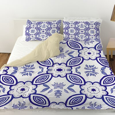 Chinoiserie Swatch 1 Duvet Cover Size: Twin