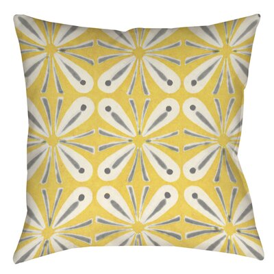 Salzman 1 Indoor/Outdoor Throw Pillow Size: 18