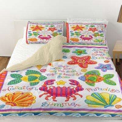 By the Sea Duvet Cover Size: Twin