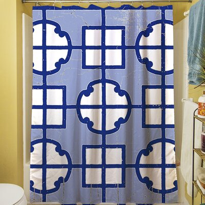 Chinoiserie Swatch II Shower Curtain