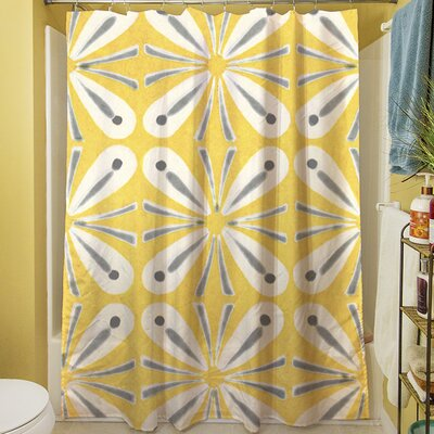 Citron and Slate I Shower Curtain