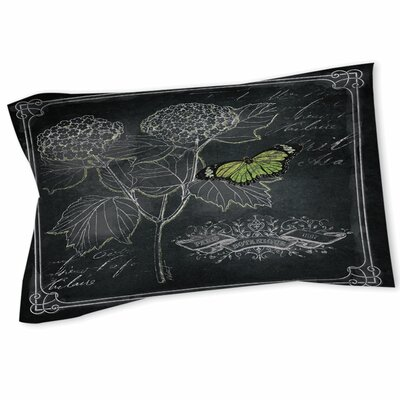 Chalkboard Botanical 1 Sham Size: Queen/King
