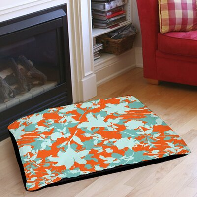 Chloe Floral 5 Indoor/Outdoor Pet Bed Size: 40 L x 30 W