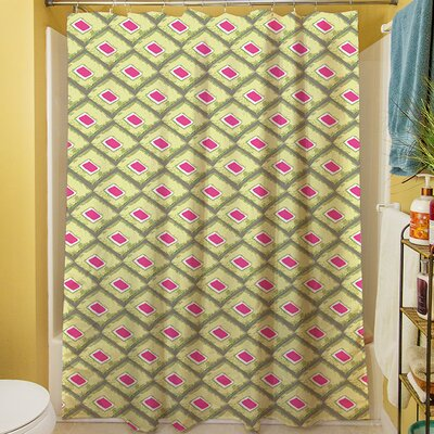 Butterfly Diamond Shower Curtain