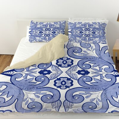 Chinoiserie Swatch 4 Duvet Cover Size: Twin