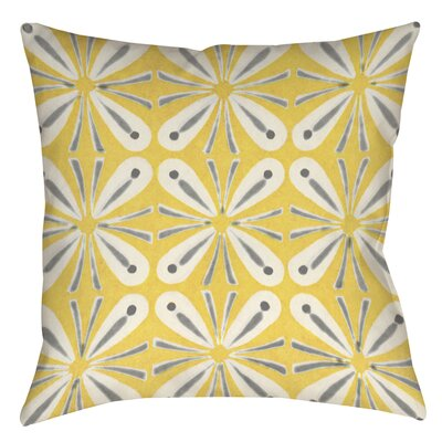 Salzman 1 Printed Throw Pillow Size: 14 H x 14 W x 3 D